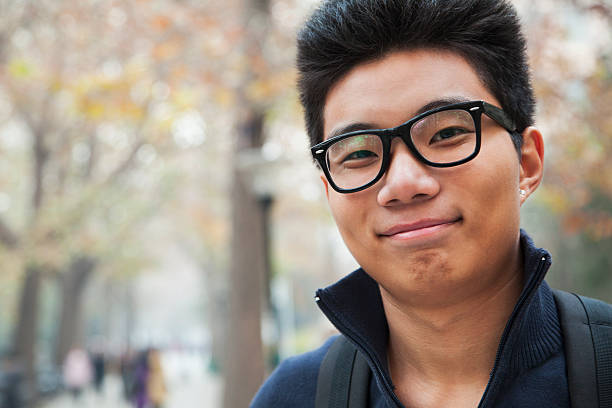 Porträt von college-Studenten – Foto