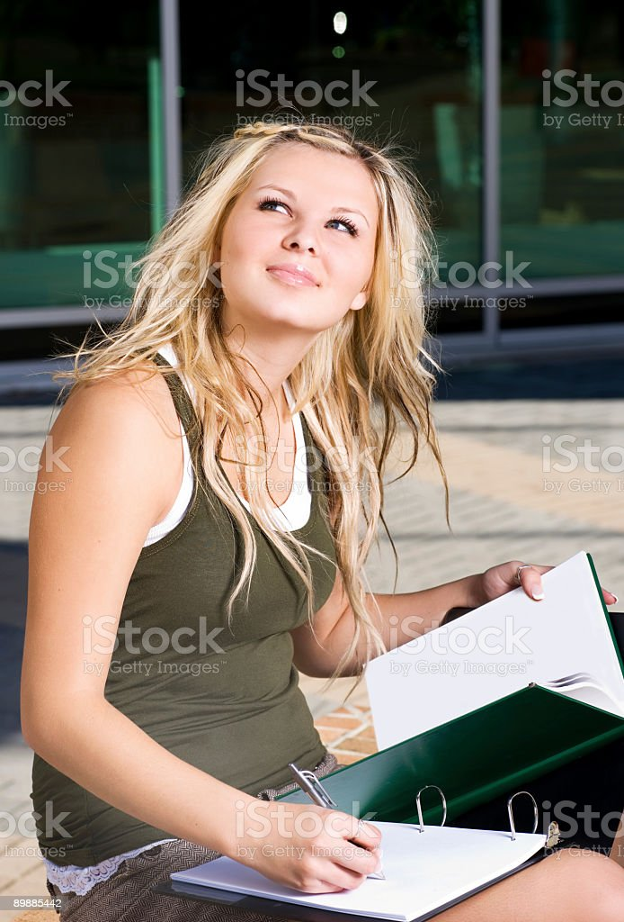 Student Portrait royalty-free stock photo
