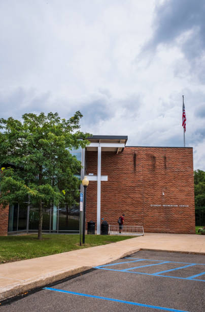Student Recreation Center at Bloomsburg University stock photo