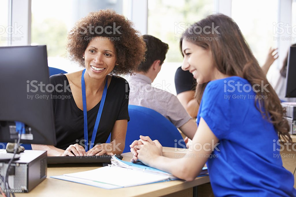 Student Services Department Of University Providing Advice stock photo