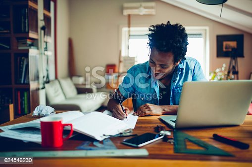 istock Student studying 624546230