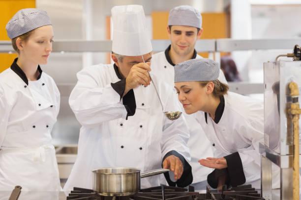 Student tasting the teachers soup picture id827422978?b=1&k=6&m=827422978&s=612x612&w=0&h=xakzuphfz4ght8d6zsk3qhjftqzgoup548bpsw4nl7g=