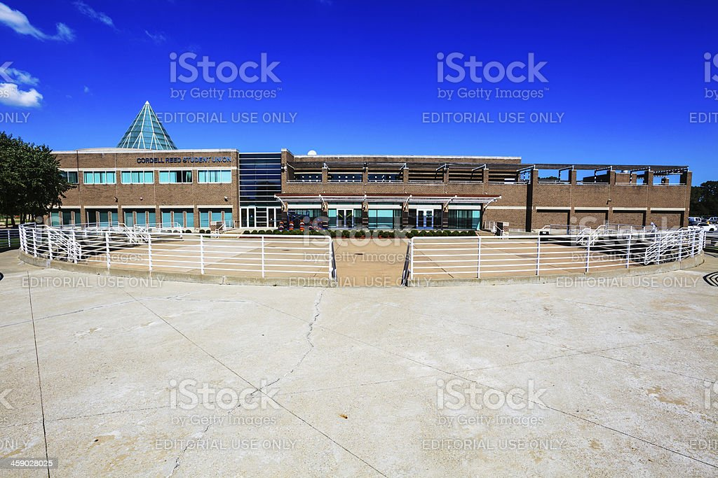 Student Union, Chicago State University in Roseland royalty-free stock photo