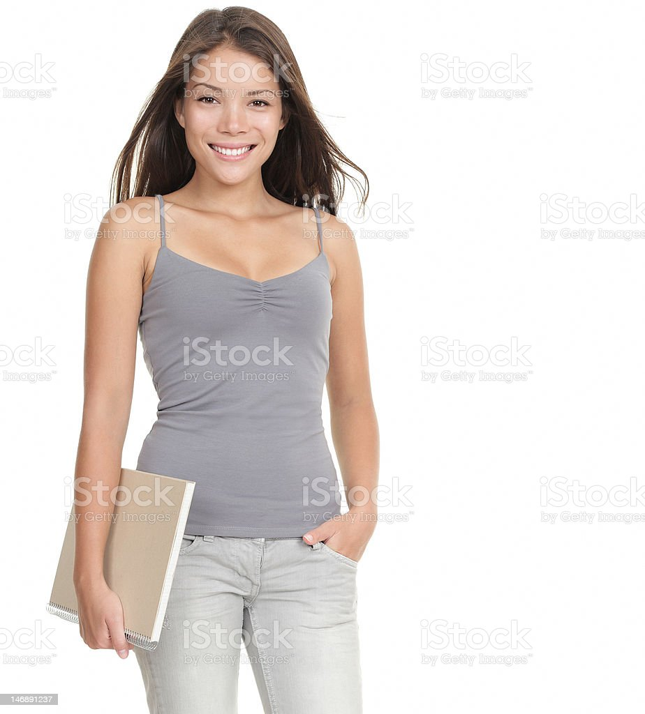 Student woman royalty-free stock photo
