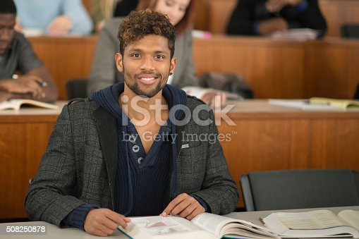 istock Student Working on an Assignment 508250878