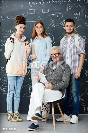 istock Students and teacher 954188048