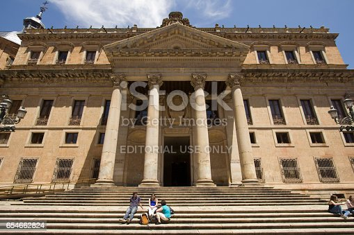 istock Students at the Salamanca University in Spain 654662824