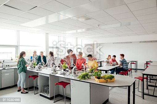 1097006206 istock photo Students During Class 911030486