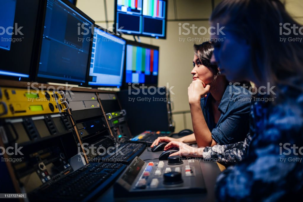 Students Experimenting With Video Software - Royalty-free Complexity Stock Photo