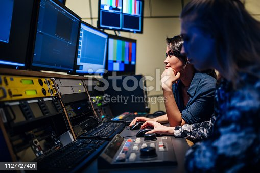 istock Students Experimenting With Video Software 1127727401