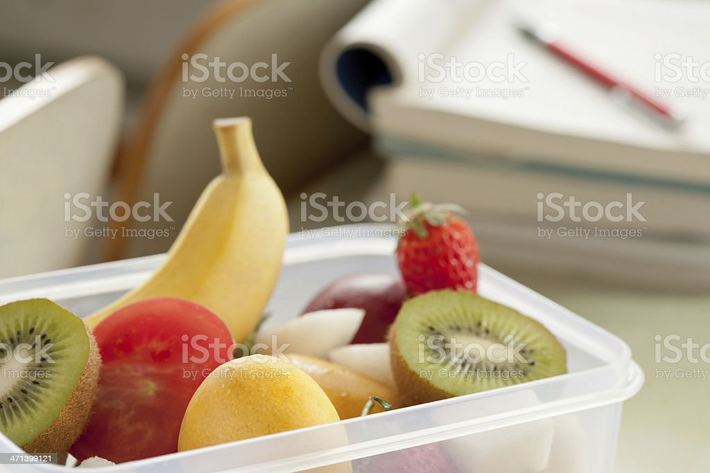 Students have to supplement nutrition royalty-free stock photo