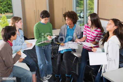 istock Students in classroom 465504049