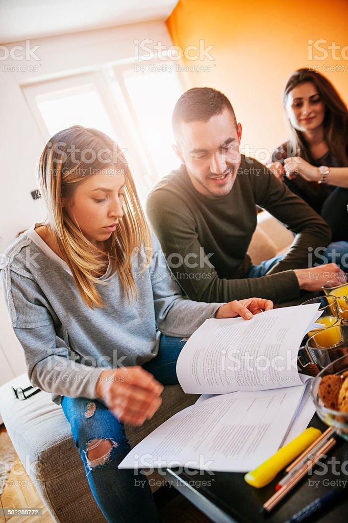 Studenten Lernen  – Foto