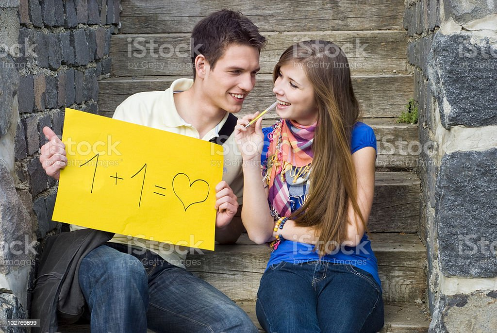 Students love royalty-free stock photo