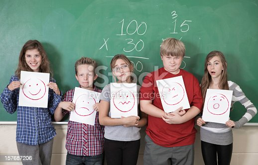 157687202 istock photo Students making Faces 157687206