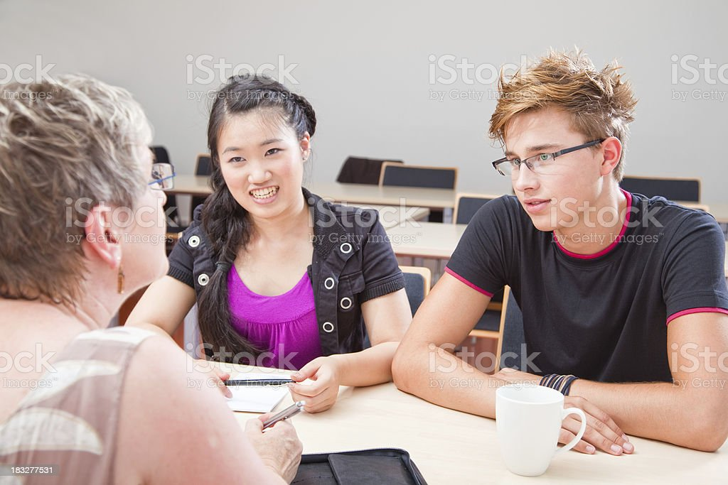 Students royalty-free stock photo