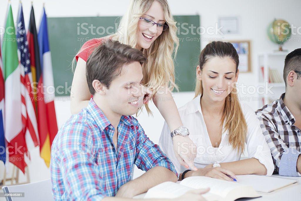 Studenten Lizenzfreies stock-foto