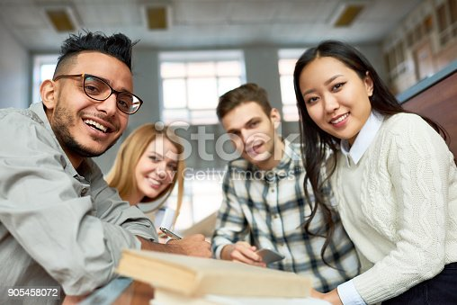 istock Students Posing in Class 905458072