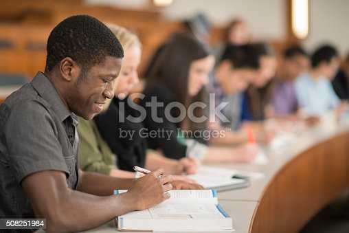 istock Students Studying in a Lecture Hall 508251984