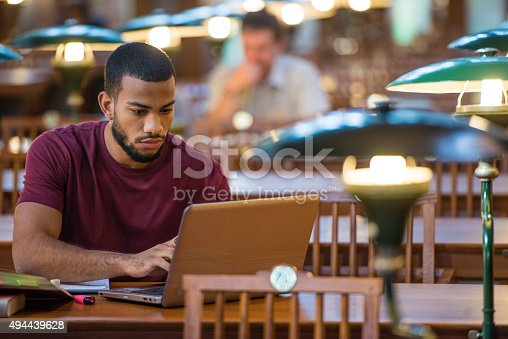 istock Students Studying in a Library 494439628