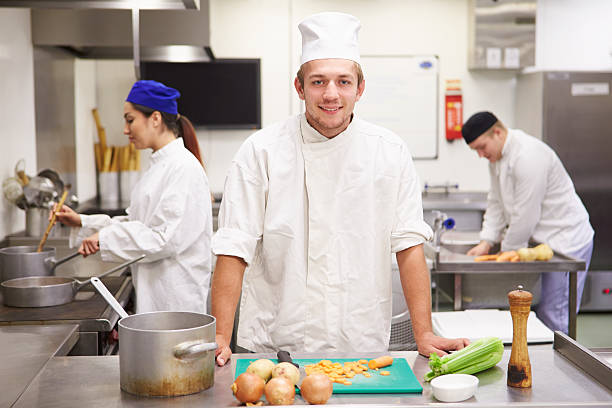 Students training to work in catering industry picture id511808595?b=1&k=6&m=511808595&s=612x612&w=0&h=t7coslwnuxdmpyttrzifq3jzkgbmzemrvddehheet2i=