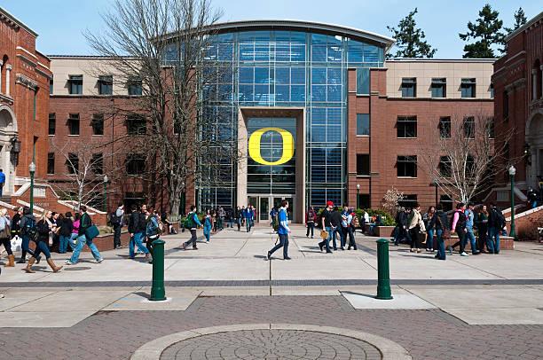 University of Oregon stock photo