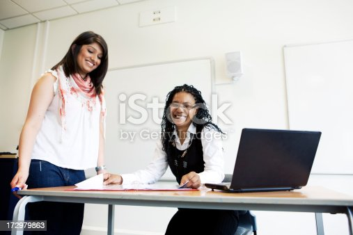 istock students working in classroom 172979863