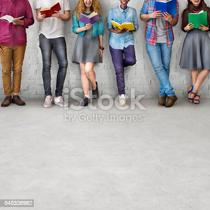 istock Students Youth Adult Reading Education Knowledge Concept 545338982
