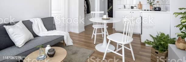 Studio apartment in white picture id1157097275?b=1&k=6&m=1157097275&s=612x612&h=qyiupaufh8vvspiiuiuka5 34n0gwwzmypsof99jb9q=