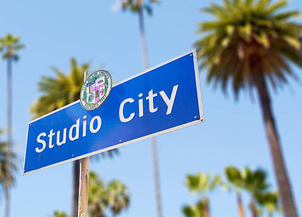 studio city - san fernando valley stock photos and pictures