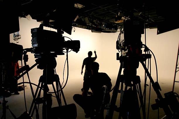 Studio crew 1 stock photo