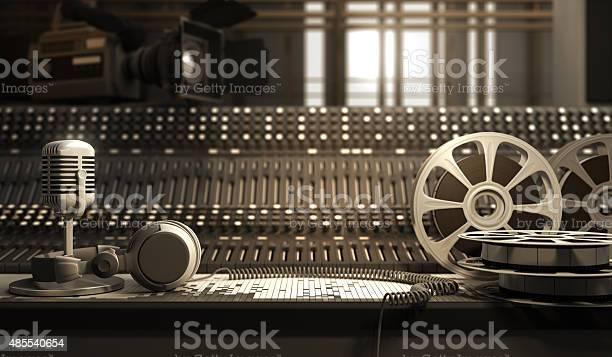 Studio Equipment Stock Photo - Download Image Now