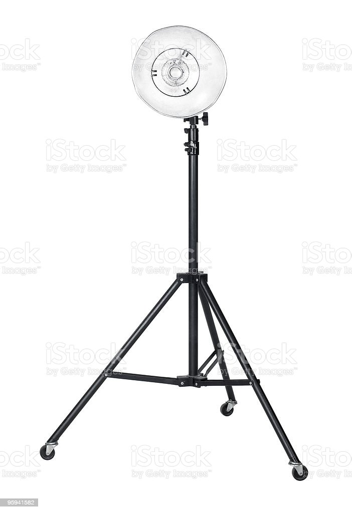 studio flashlight royalty-free stock photo