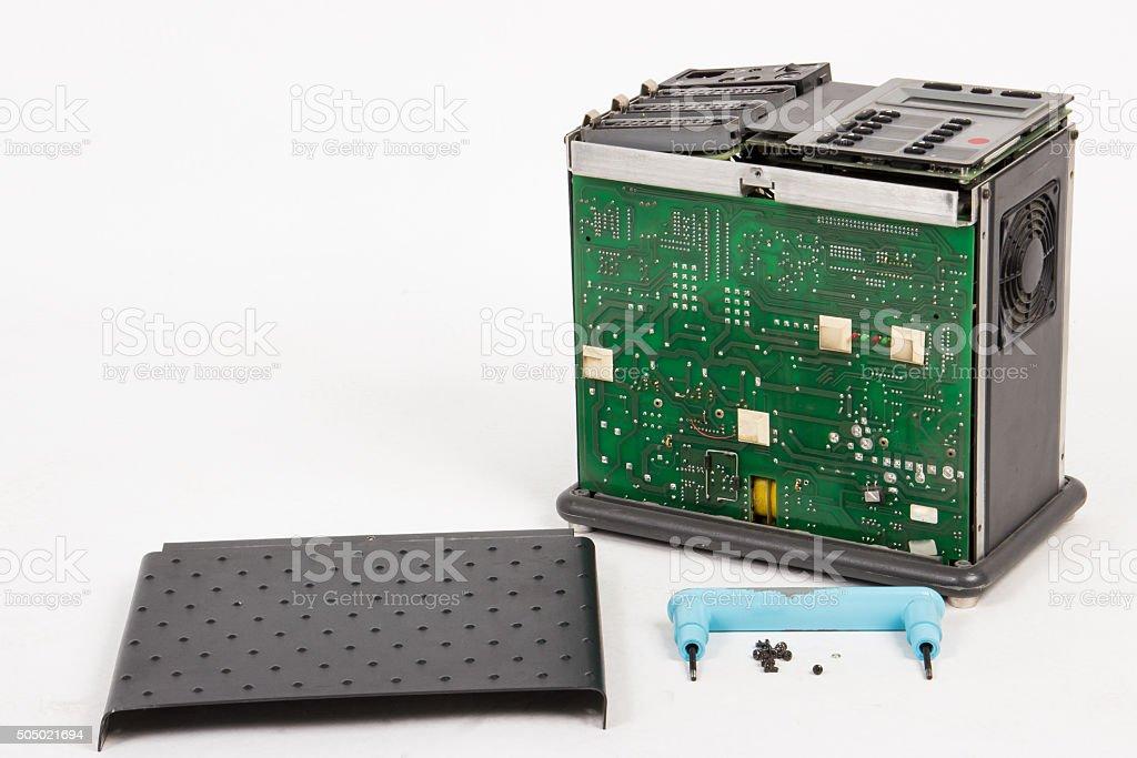 Studio generator inside stock photo