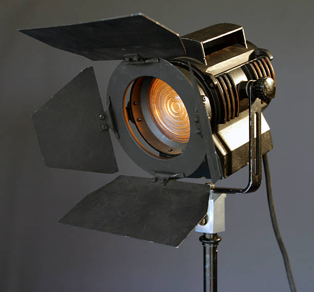 Studio light 2 stock photo