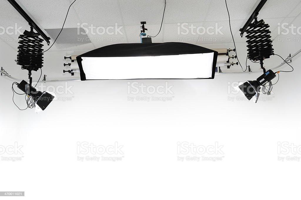 Studio Lighting royalty-free stock photo
