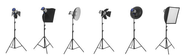 studio lights - disco lights stock photos and pictures
