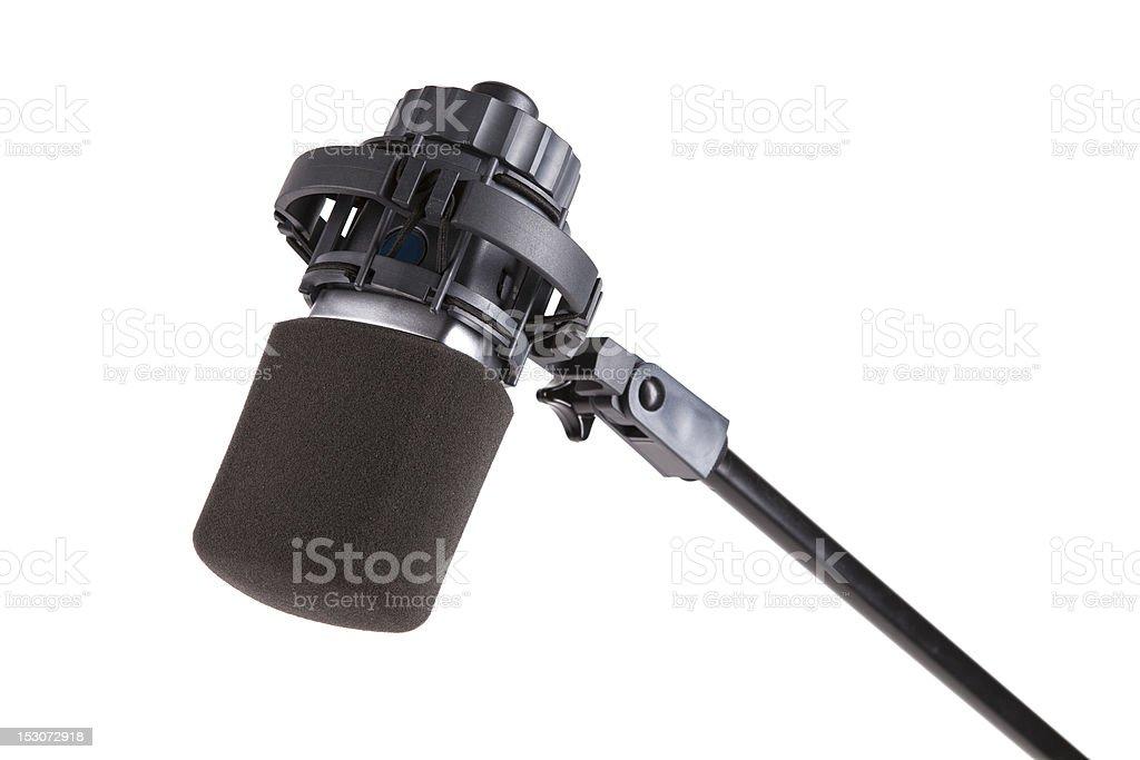 Studio microphone. stock photo