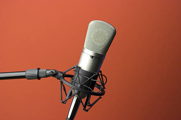 studio microphone - 無線電接收裝置 個照片及圖片檔