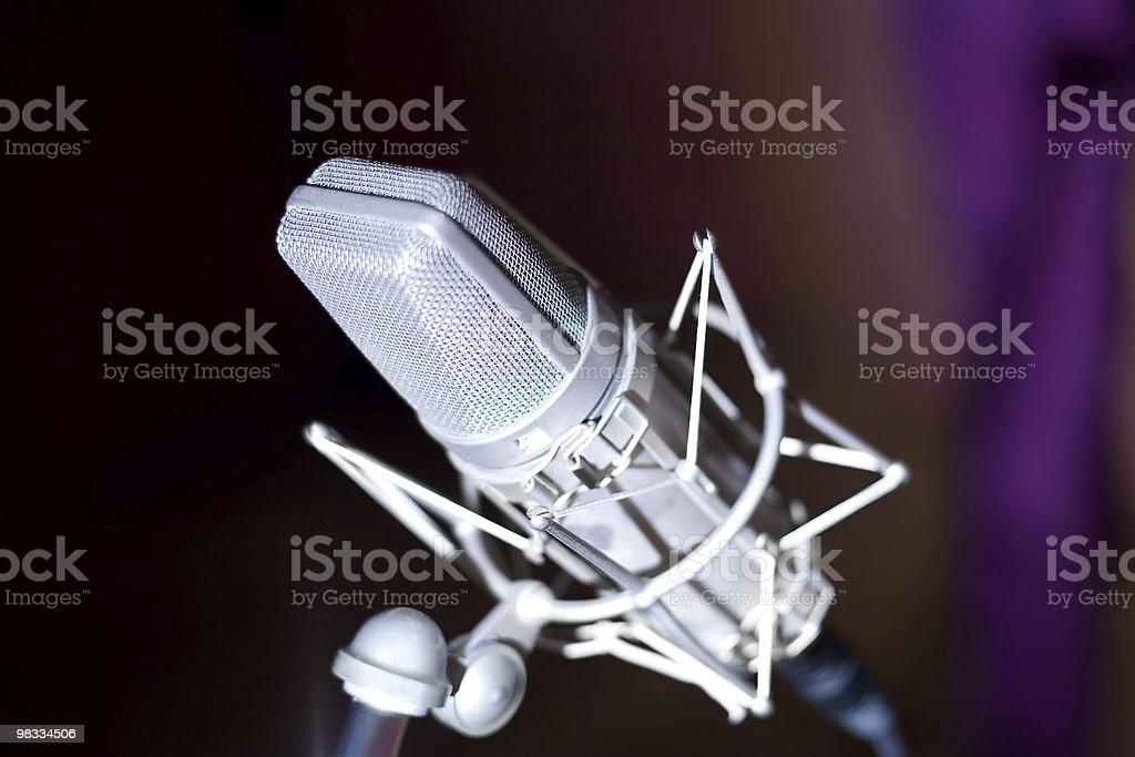 studio microfono foto stock royalty-free