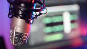 istock Studio Microphone Recording Podcast Audio 1256622940