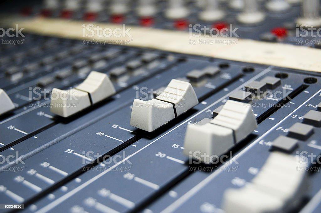 Studio Mixer royalty-free stock photo