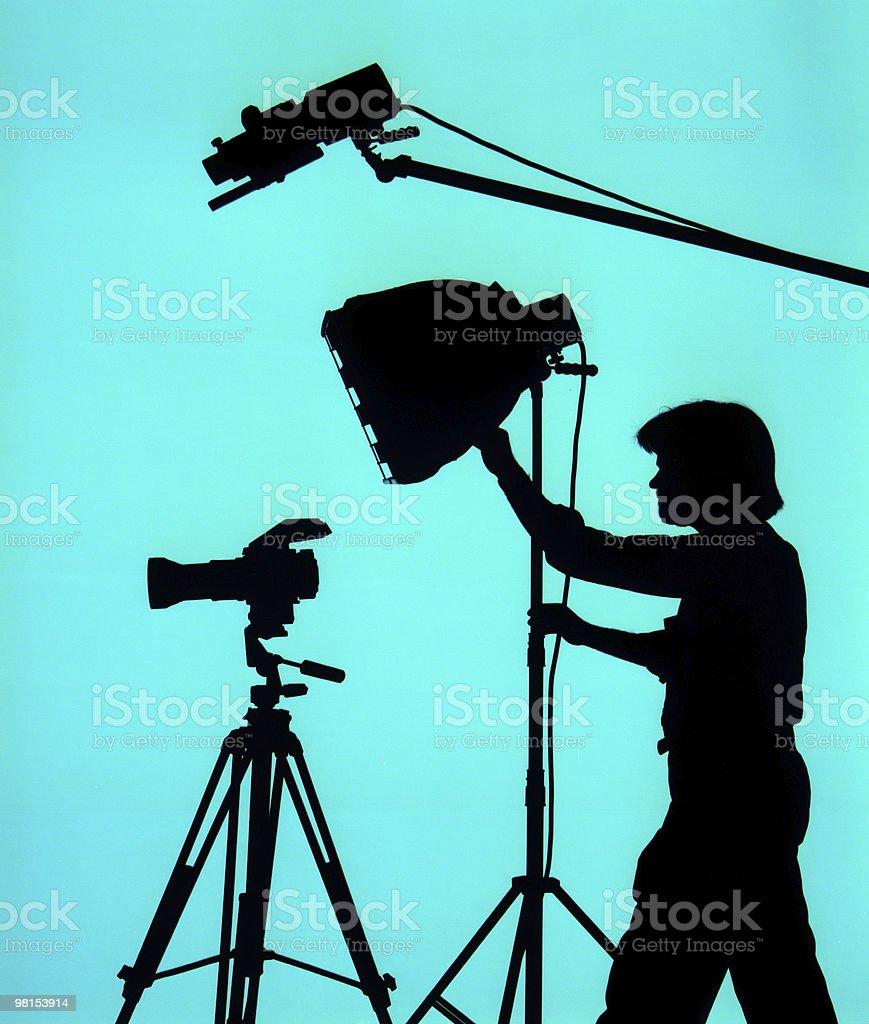 Studio Fotografo foto stock royalty-free