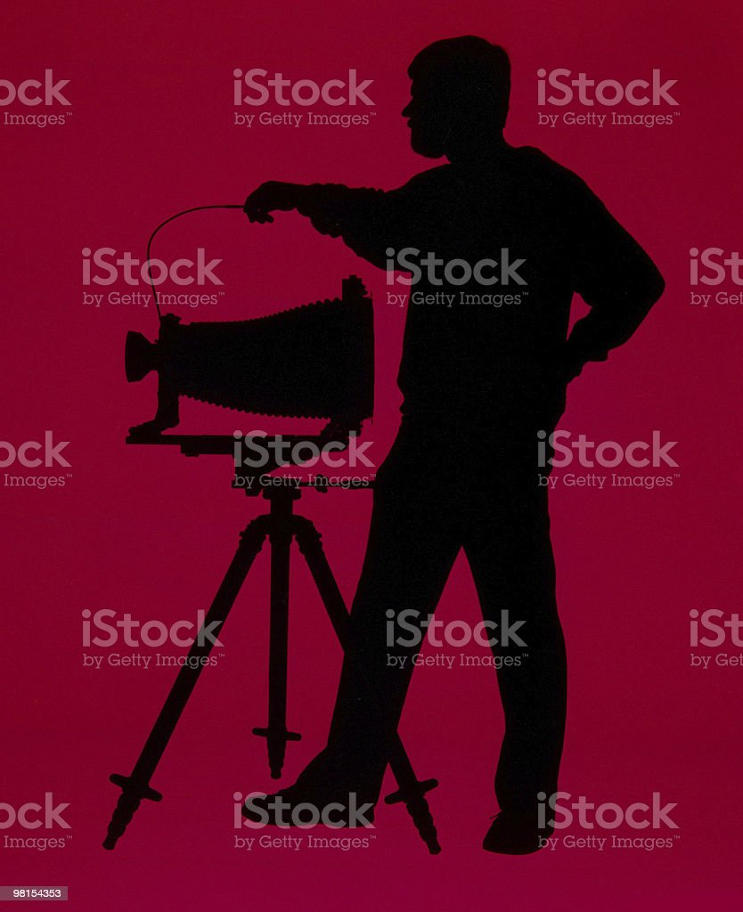 Studio Photographer royalty-free stock photo
