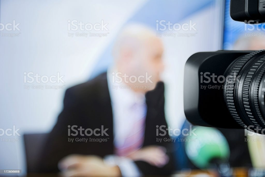 TV studio - Royalty-free Adult Stock Photo