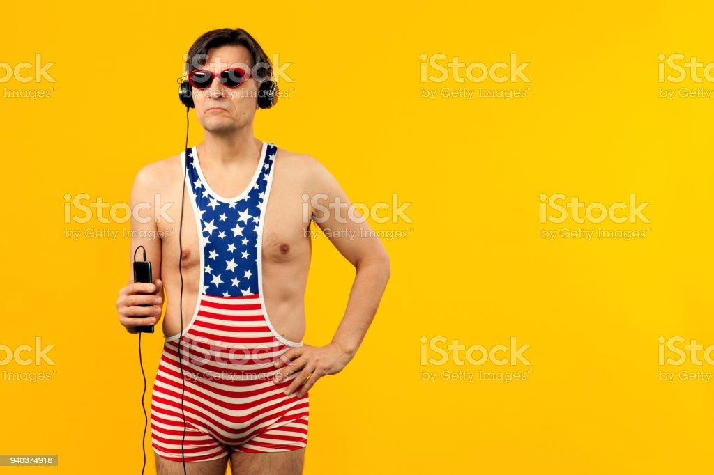 portrait en studio d'un homme mature photo libre de droits