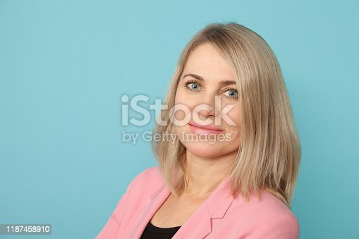 626257092 istock photo Studio portrait of an attractive 50 year old woman 1187458910