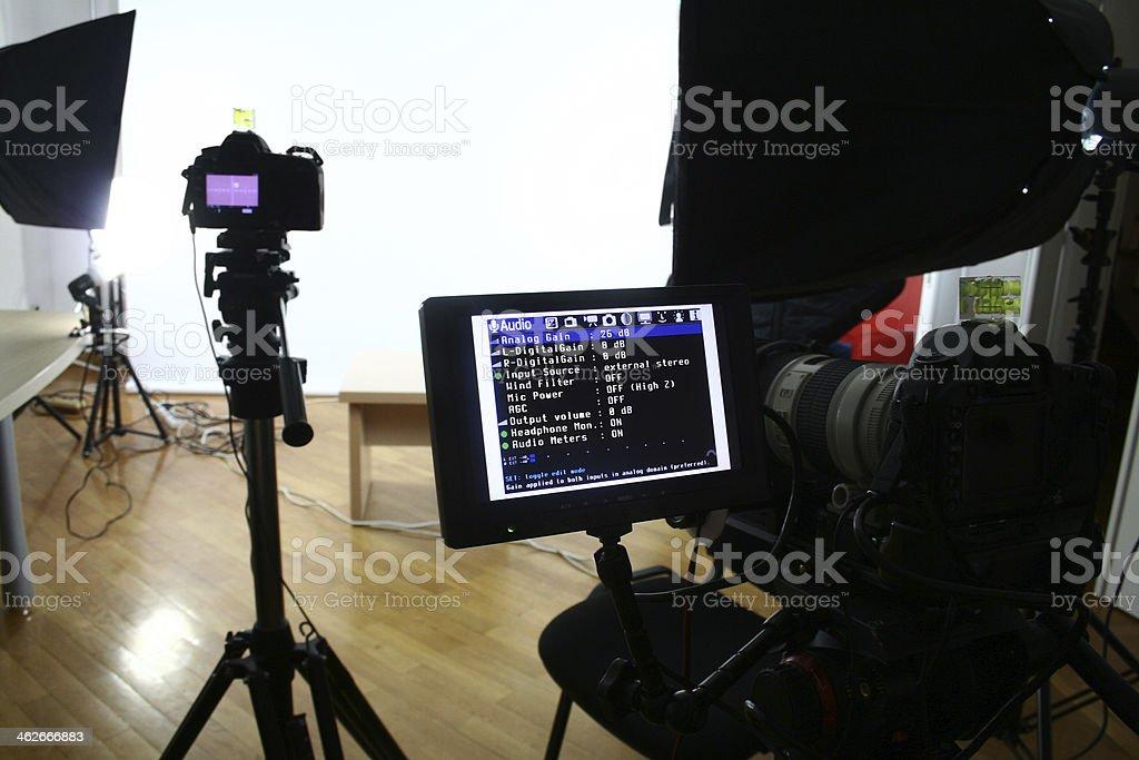 Studio Set stock photo