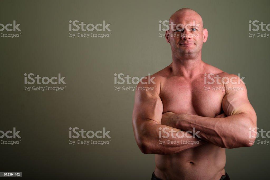 Reife muskulöse Papas