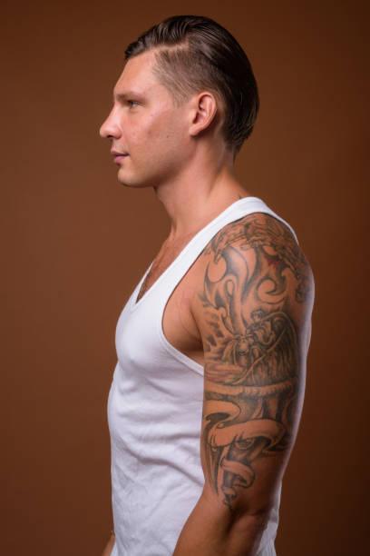 Tattoo Mann Oberarm
